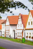 Village Holasovice, Czech Republic. UNESCO Royalty Free Stock Photo