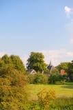 Village hollandais image libre de droits