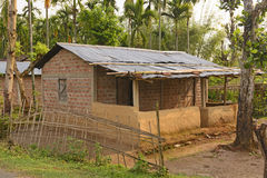 Village Home in the Subtropics Stock Photography