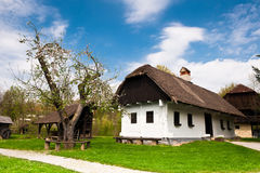 Village house. In Croatian countryside - Kumrovec Royalty Free Stock Photography
