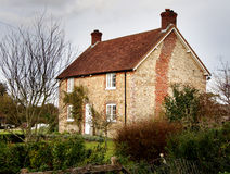 Village House. Quaint Village House in Rural England Stock Images
