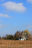Village House in the autumn Royalty Free Stock Photography