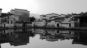 Village house of China Stock Photos