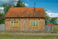 Village House. In the country in Croatia part Slavonija, willage Trnava Stock Image