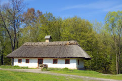Village house in forest environment Stock Photos