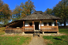 Village house from the moldavian part of Romania Stock Photos