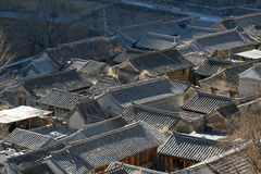 Village house of North China Royalty Free Stock Images