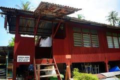 Village house, Penang, Malaysia Royalty Free Stock Image
