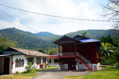 Village house, Penang, Malaysia Stock Photos