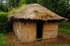 Village house at rural area. Papua New Guinea Stock Photos