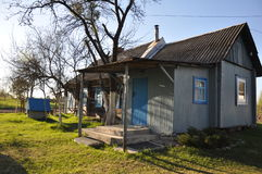 Village house in Russia. Royalty Free Stock Image