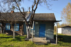 Village house in Russia. Stock Photography