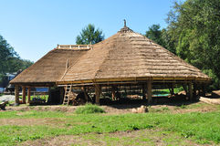 Village house. Sibiu romania ethnic museum wood house architecture Royalty Free Stock Photography