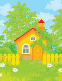 Village house Royalty Free Stock Photos