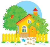 Village house Stock Image