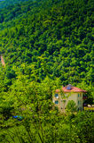 Village House On Turkish Countryside Royalty Free Stock Images