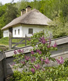 Village house in Ukraine Stock Photography