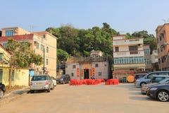 Village house at yuen long hong kong. The village house at yuen long hong kong royalty free stock photos