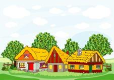Free Village Houses Stock Photo - 28821290