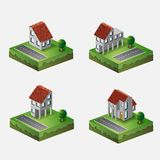 Village houses Royalty Free Stock Image