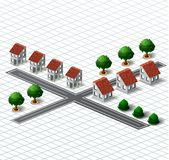 Village houses Royalty Free Stock Photography