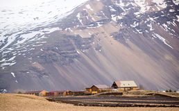 Village in iceland Stock Photography