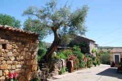 Village Idanha-a-Velha du Portugal photographie stock