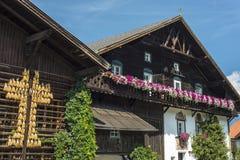 Village of Igls near Innsbruck, Austria. Royalty Free Stock Photos