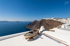 Village of Imerovigli in Santorini Greece Stock Photos