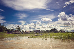 Village In Jungle Stock Photography