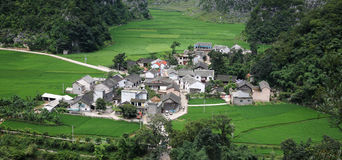Village In The China Stock Photos