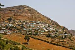 Village indien Photographie stock