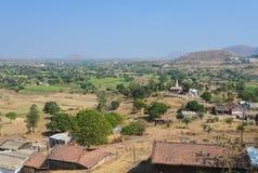 Village indien photo stock