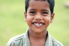 Village indien Little Boy Photos libres de droits