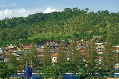 Village in indonesia Royalty Free Stock Photos