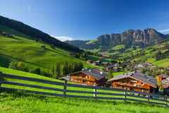 The village of Inneralpbach in Alpbach Valley,Austria Royalty Free Stock Photography