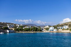 Village in Iraklia island, Cyclades, Greece Royalty Free Stock Photography