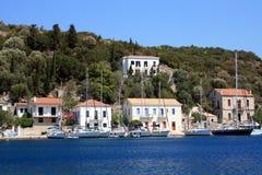 Village on island Stock Photo