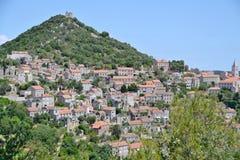 Village on island Lastovo, Croatia Royalty Free Stock Photo