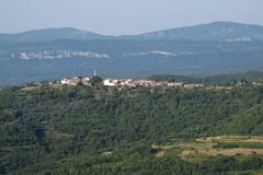 Village in Istria Royalty Free Stock Photos