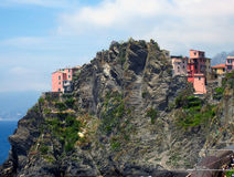 Village on Italian Coast Royalty Free Stock Photos