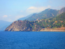 Village on Italian Coast Royalty Free Stock Photography