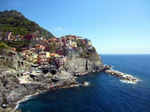 Village on Italian Coast Royalty Free Stock Photo