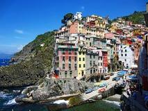 Village on Italian Coast Royalty Free Stock Images