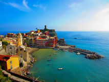 Village on Italian coast Royalty Free Stock Photography