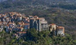 Village Italie de Rivello image stock