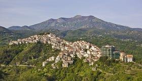 Village italien Photos stock