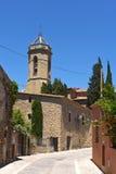 Village of Jafre Baix Emporda, Girona province,. Catalonia, Spain Royalty Free Stock Image