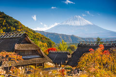 Village in Japan Royalty Free Stock Images