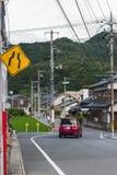 Village japonais dans la ville de Yamaguchi, Japon Photographie stock